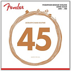 Fender 8060 PHOSPHOR BRONZE ACOUSTIC BASS STRINGS (0738060400)