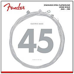 Fender 9050L Stainless Steel Flatwound Long Scale Bass Strings - Light (0739050403)