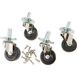 Fender Amplifier Casters W/Hardware Set of 4 (099-4000-000)