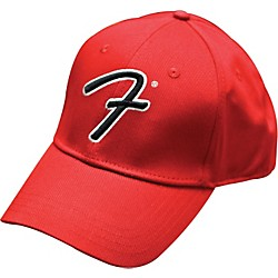 "Fender Big ""F"" Logo Stretch Baseball Cap (9106010506)"