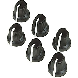 Fender Black Pointer Amplifier Knobs (099-0932-000)