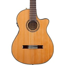 Fender CN-240SCE Thinline Classical Acoustic Electric Guitar (0960326021)