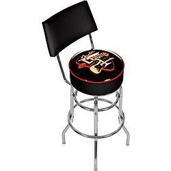 "Fender Electro Lounge 30"" Barstool with Back (9188889306)"