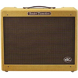 Fender Eric Clapton Signature EC Tremolux 12W 1x12 Hand-Wired Tube Guitar Combo Amp (8151500000)