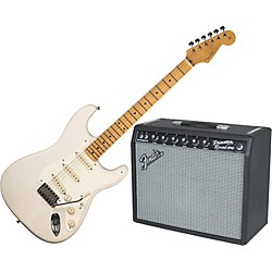 Fender Eric Johnson Stratocaster Electric Guitar and 65 Princeton Amp Package (KIT-582823)