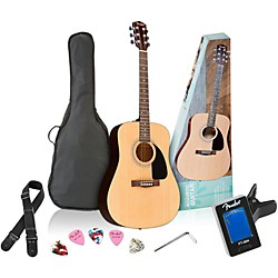 Fender FA-100 Acoustic Guitar Pack (0950815100)