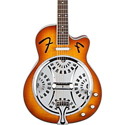 Fender FR50CE Cutaway Acoustic-Electric Resonator Guitar (0955005032)