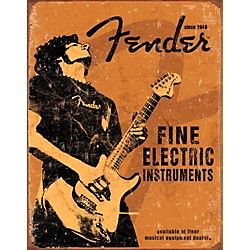 Fender Fine Electric Instruments Tin Sign (9190670506)