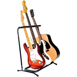 Fender Folding 3-Guitar Stand (099-1808-003)