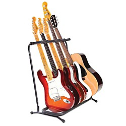 Fender Folding 5-Guitar Stand (099-1808-005)