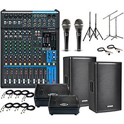 Live Sound Packages Music Amp Arts