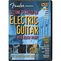 Fender Getting Started On Electric Guitar DVD (320293)