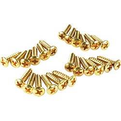 Fender Gold Pickguard Screws (099-4924-000)