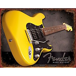 Fender Make History Tin Sign (9190670606)