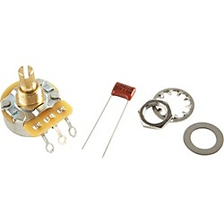 Fender No-Load 250K Split Shaft Potentiomenter (099-0832-000)