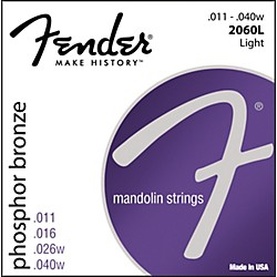 Fender Phosphor Bronze Mandolin Strings - Light (0732060403)