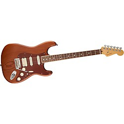 Fender Reclaimed Old Growth Redwood Stratocaster Electric Guitar (USED004000 0170118821)