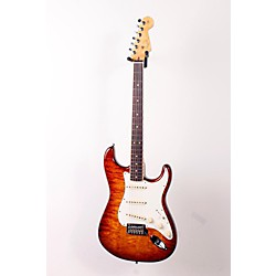 Fender Select Stratocaster Exotic Quilt Maple Top Electric Guitar (USED005001 0170710871)