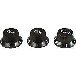 Fender Strat Knobs 1 Volume/2 Tone (099-1365-000)