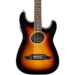 Fender Stratacoustic Premier Flame Maple Acoustic-Electric Guitar (0968706032)
