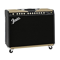 Fender Super-Sonic Twin Black/Gold 100W 2x12 Tube Guitar Combo Amp (2162000072)