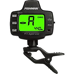 Fishman FT-1 Digital Clip-On Tuner (ACC-TUN-FT1)