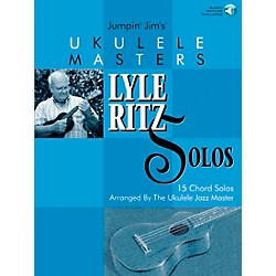 Flea Market Music Jumpin' Jim's Ukulele Masters: Lyle Ritz Solos (Book/CD) (695702)