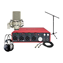Focusrite Scarlett 18i8 MXL 990 Package (18i8 MXL 990 Package)