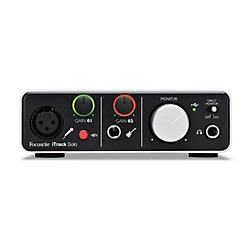 Focusrite iTrack Solo Audio Interface for iPad, Mac and PC (USED004000 iTrack Solo)