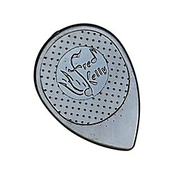 Fred Kelly Picks Delrin Flat Pee Wee Guitar Picks (36pcs.) (D4-WP-36)