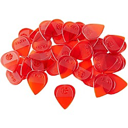 Fred Kelly Picks Poly Flat Guitar Picks 36pcs (P4-H-36)