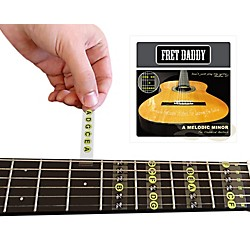 Fret Daddy The A Melodic Minor Scale for Classical Guitar (CLMM-00015)
