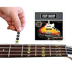 Fret Daddy The Fretboard Note Map for Bass Guitar (BANM-00013)
