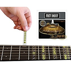 Fret Daddy The Fretboard Note Map for Electric/Acoustic Guitar (EANM-00001)