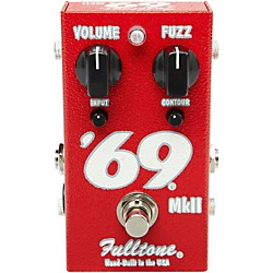 Fulltone '69 MkII Fuzz Guitar Effects Pedal (USED004000 69MKII)