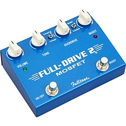 Fulltone Fulldrive2 MOSFET Overdrive/Clean Boost Guitar Effects Pedal (FD2-Mos USED)