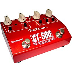 Fulltone GT-500 FET Distortion + Booster and Overdrive Guitar Effects Pedal (GT-500RED USED)