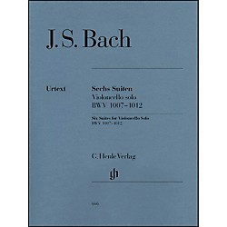 G. Henle Verlag 6 Suites for Violoncello Solo BWV 1007-1012 By Bach (51480666)