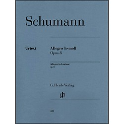 G. Henle Verlag Allegro In B Minor Op. 8 By Schumann (51480480)