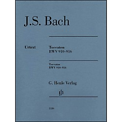 G. Henle Verlag Bach Toccatas BWV 910-916 By Bach (51481126)