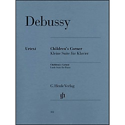G. Henle Verlag Children's Corner Little Suite For Piano By Debussy (51480382)