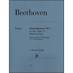 G. Henle Verlag Concerto for Piano and Orchestra E Flat Major Op. 73, No. 5 By Beethoven (51480637)