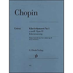 G. Henle Verlag Concerto for Piano and Orchestra E minor Op. 11, No. 1 By Chopin (51480419)