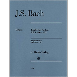 G. Henle Verlag English Suites BWV 806-811 By Bach (51481100)