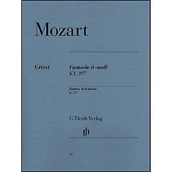 G. Henle Verlag Fantasy D Minor K397 (385G) By Mozart (51480052)
