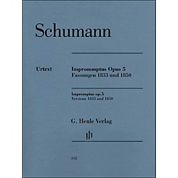 G. Henle Verlag Impromptus, Op. 5 (Versions 1833 and 1850) Piano Solo By Schumann (51480852)