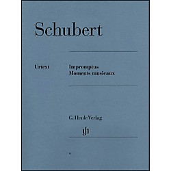 G. Henle Verlag Impromptus And Moments Musicaux By Schubert (51480004)