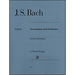 G. Henle Verlag Inventions And Sinfonias BWV 772-801 By Bach / Steglich (51480064)