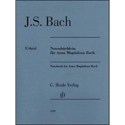 G. Henle Verlag Notebook For Anna Magdalena By Bach (51481349)