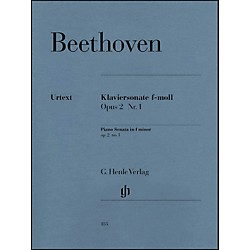G. Henle Verlag Piano Sonata No. 1 in F Minor, Op. 2 By Beethoven (51480183)